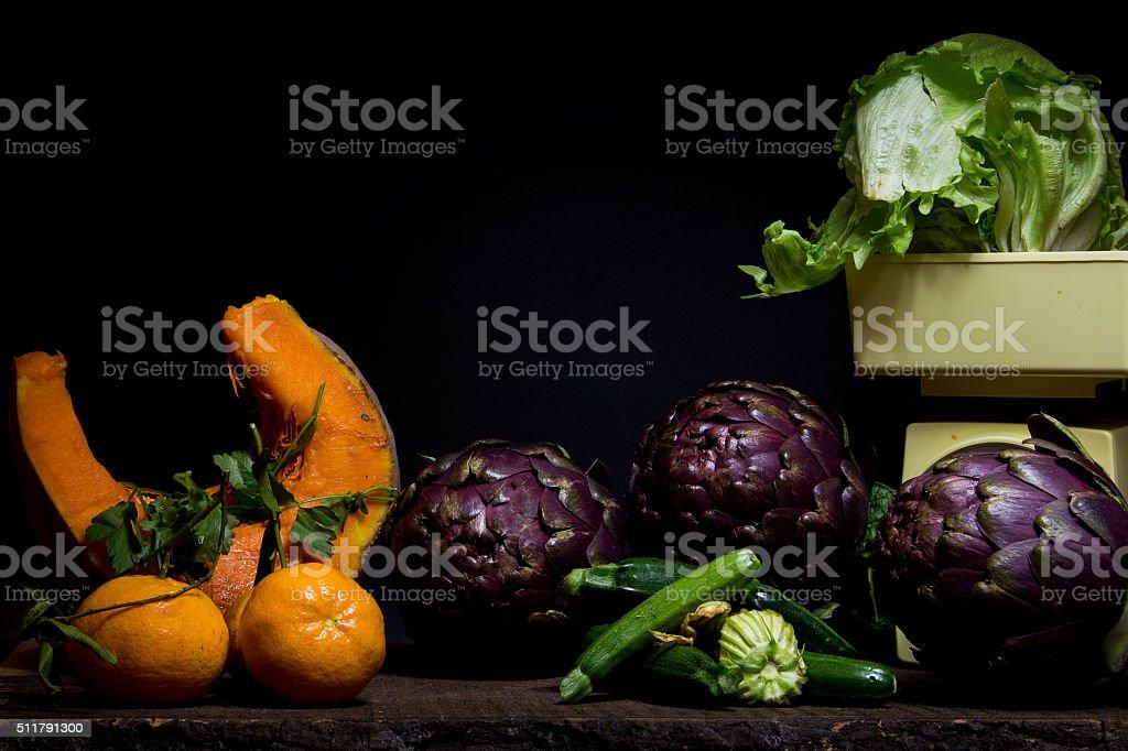 Ortaggi e frutta stock photo