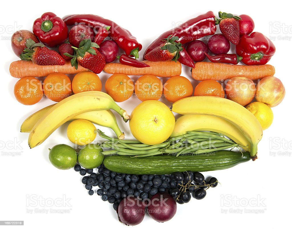 vegetables and fruits royalty-free stock photo