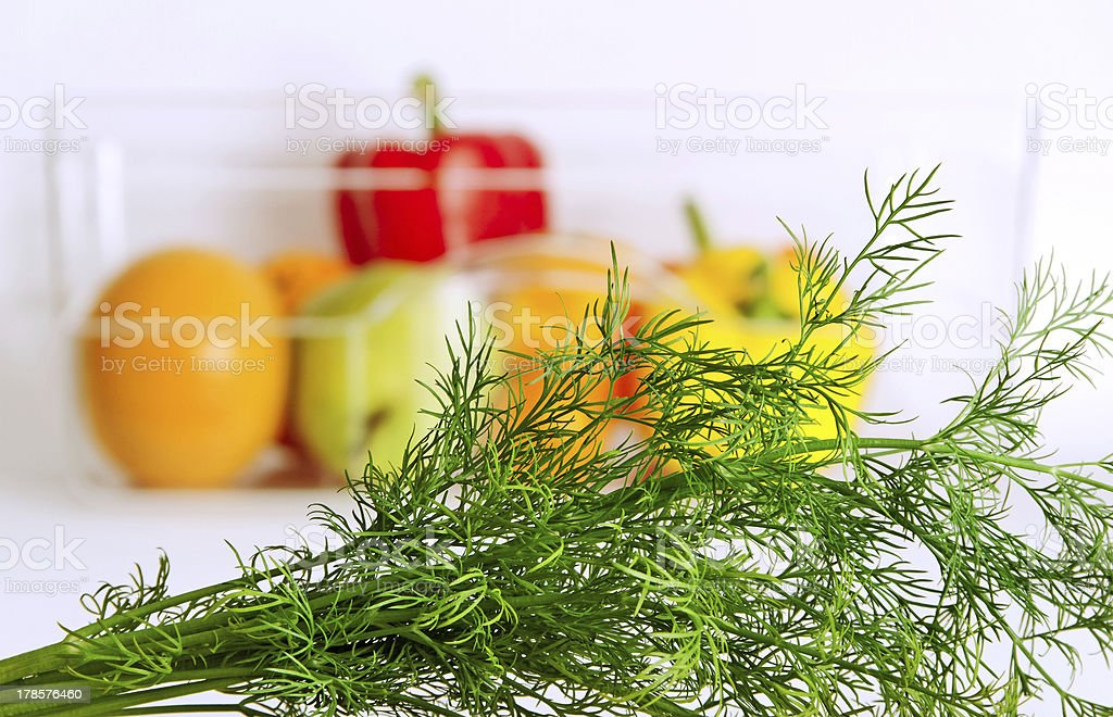 Vegetables and fruits. royalty-free stock photo