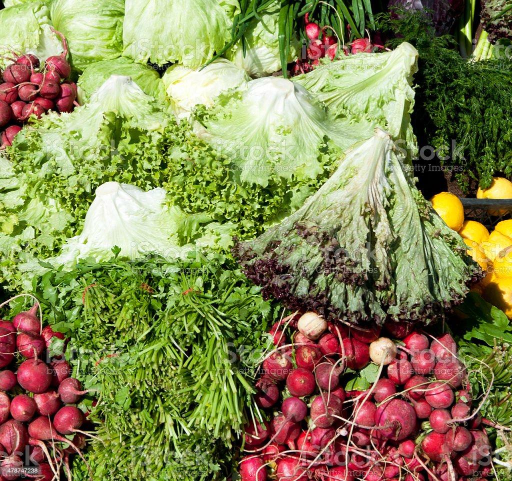 Vegetables' assortment stock photo