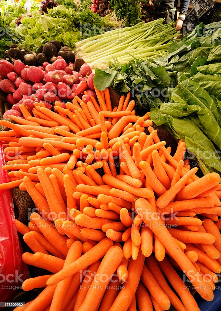 Vegetables at Bazaar / Istanbul royalty-free stock photo