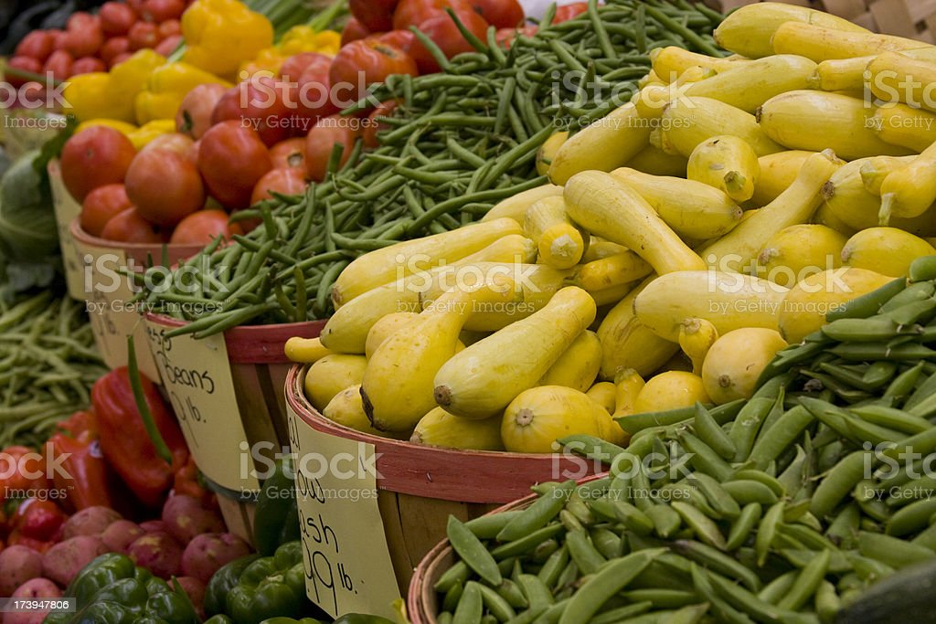 Vegetables at Market royalty-free stock photo