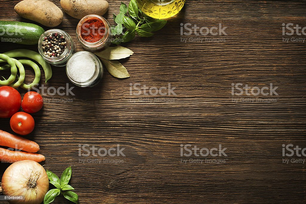 Vegetables background royalty-free stock photo