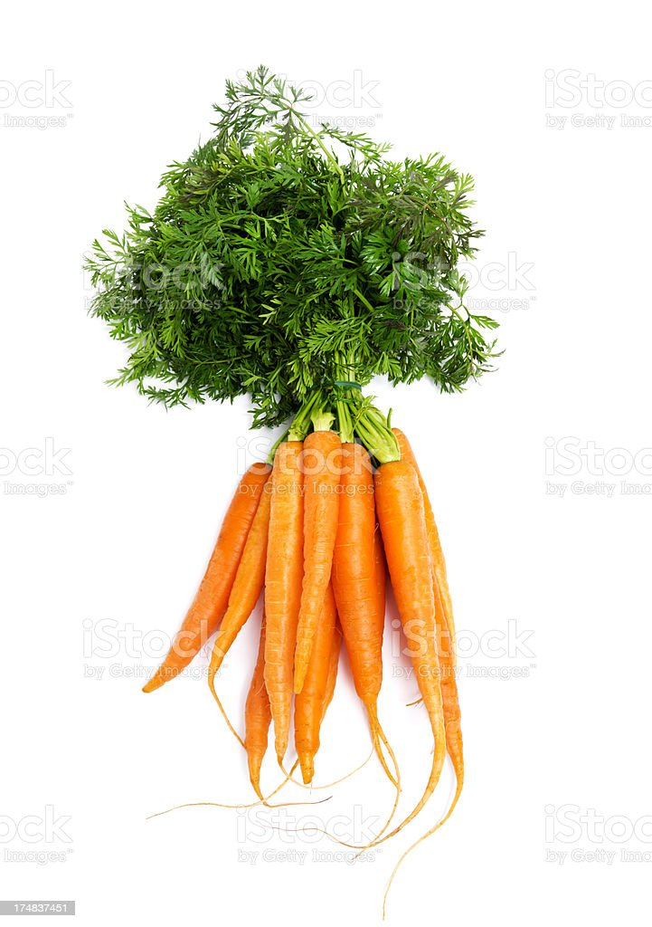 Vegetables: Carrots stock photo