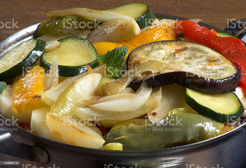 vegetables casserole royalty-free stock photo