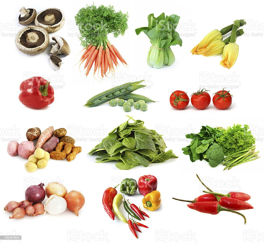 Vegetables Collection royalty-free stock photo