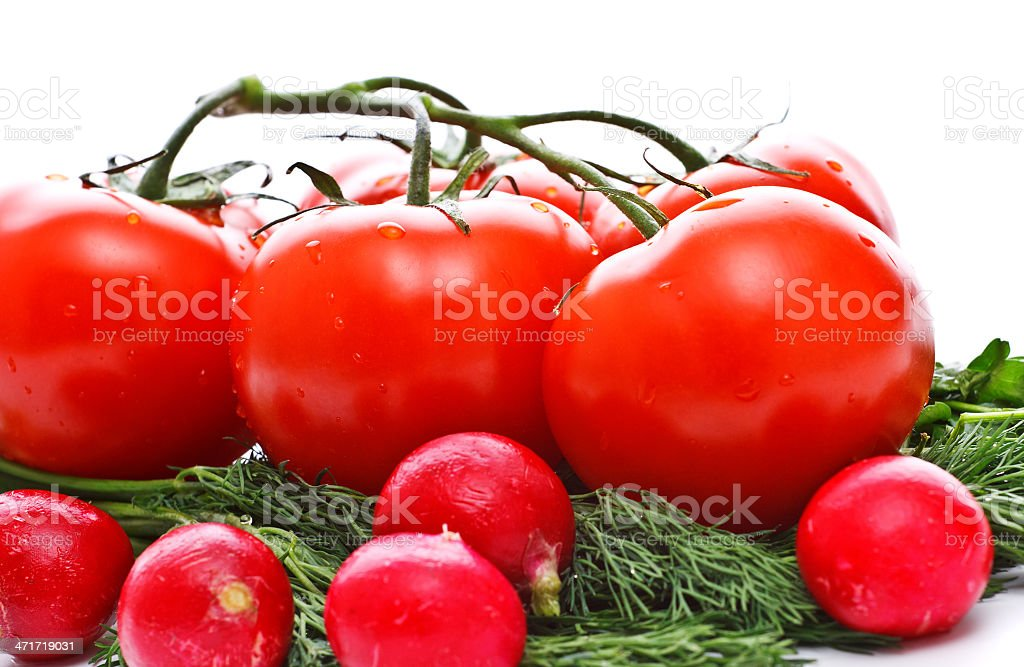 vegetables for salad royalty-free stock photo