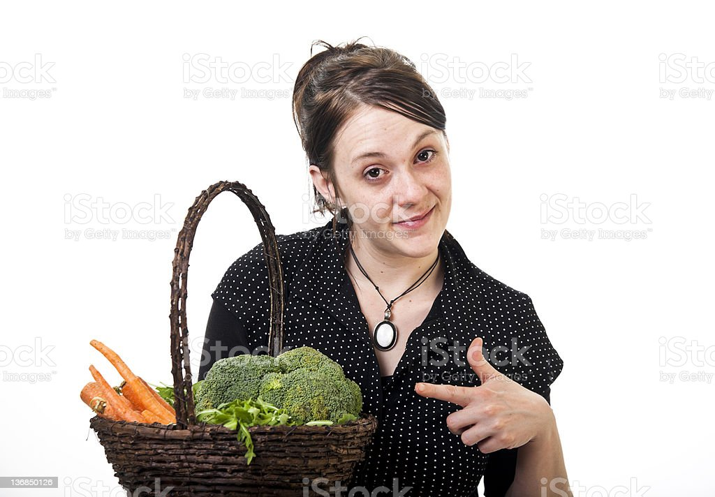 Vegetables for you royalty-free stock photo