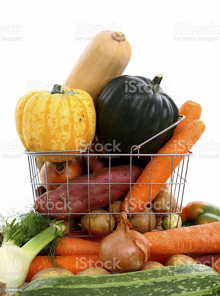 vegetables galore royalty-free stock photo