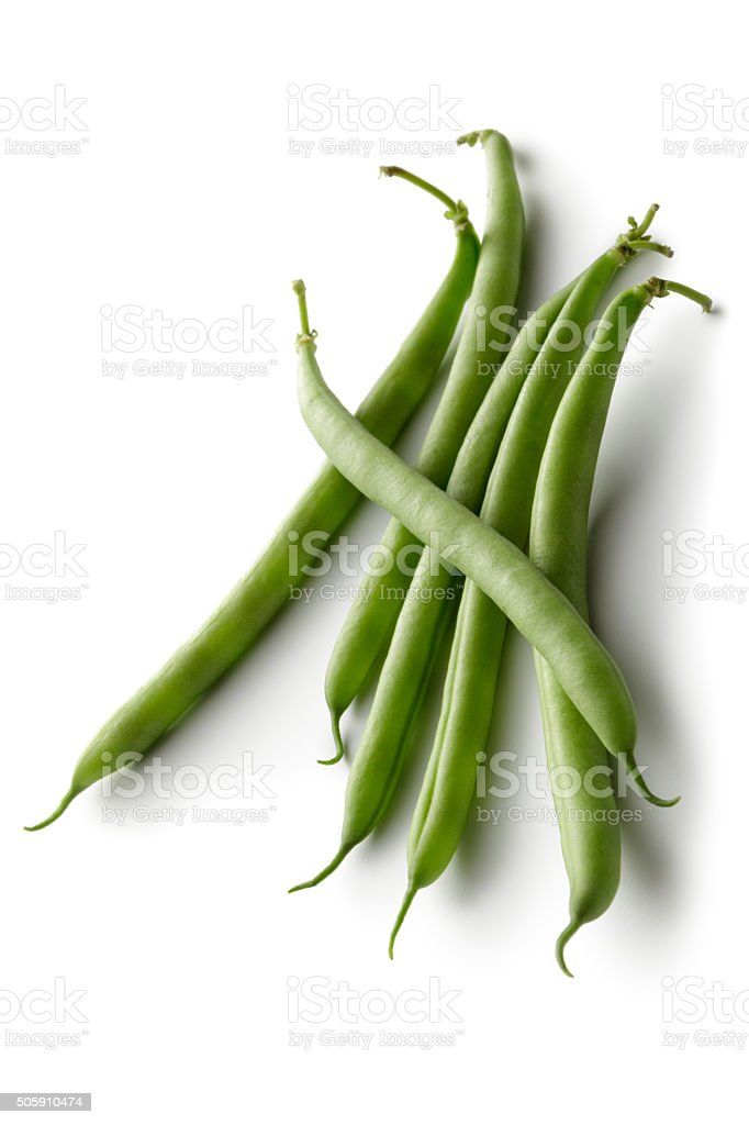 Vegetables: Green Bean stock photo