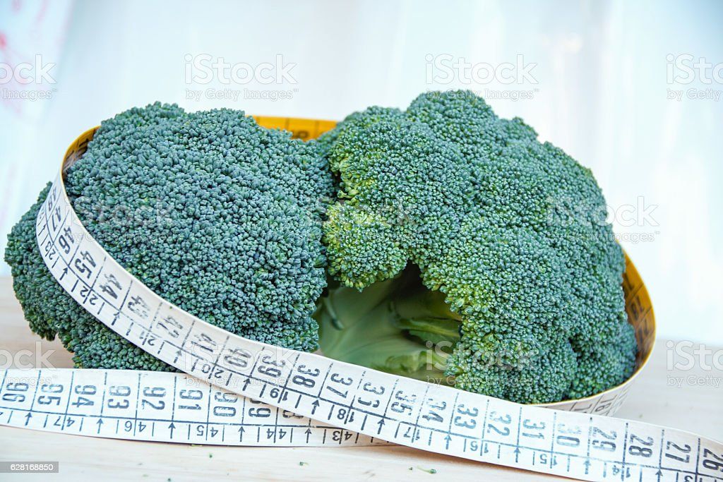 vegetables help losing weight : stock photo