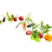 vegetables in motion