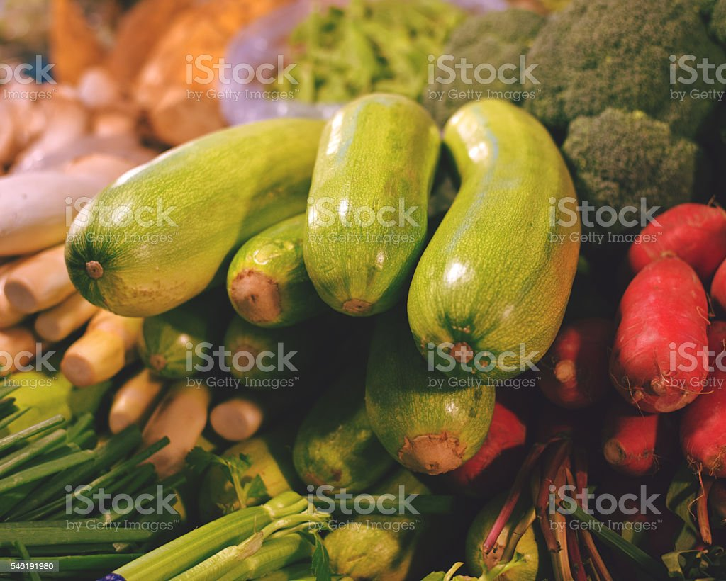 Vegetables in the Market stock photo