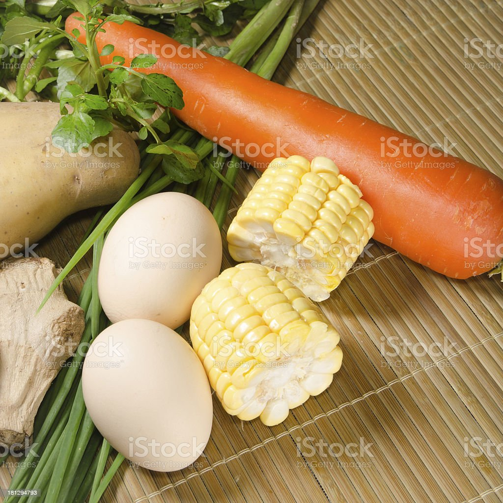 vegetables ingredient royalty-free stock photo