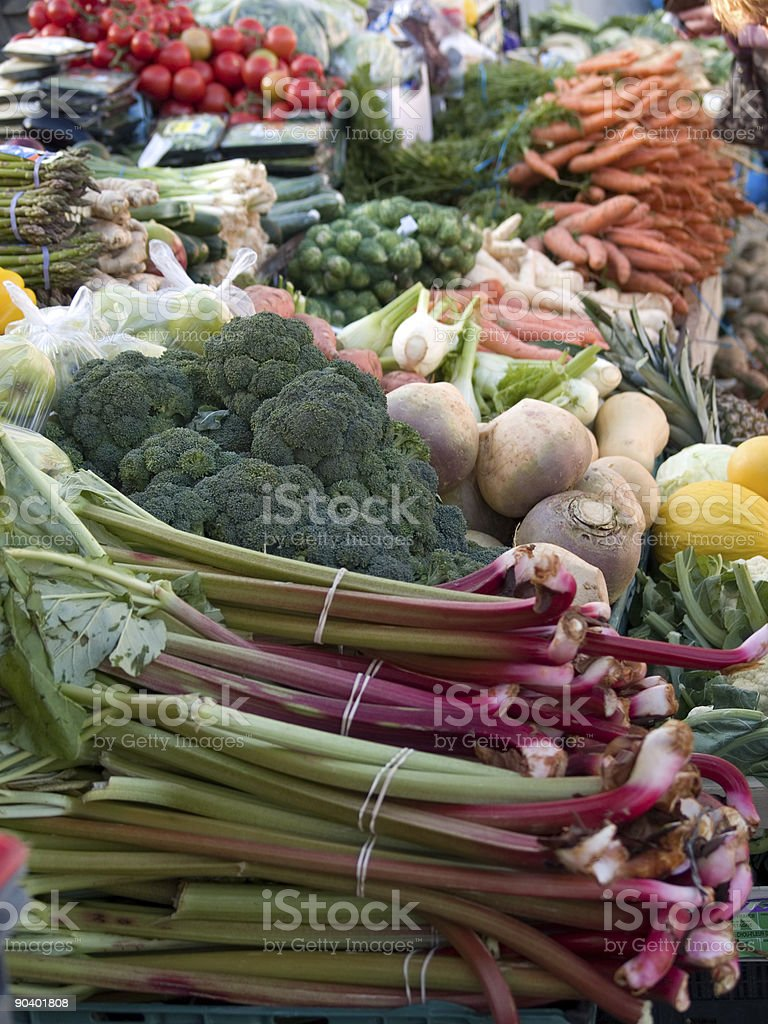 vegetables market royalty-free stock photo