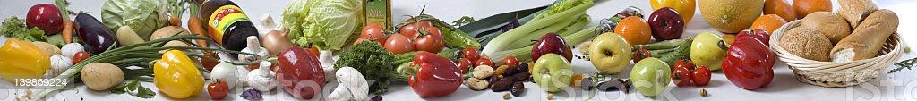 Gemüse panorama Lizenzfreies stock-foto