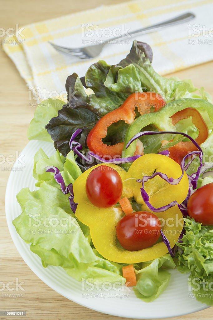 Vegetables salad royalty-free stock photo