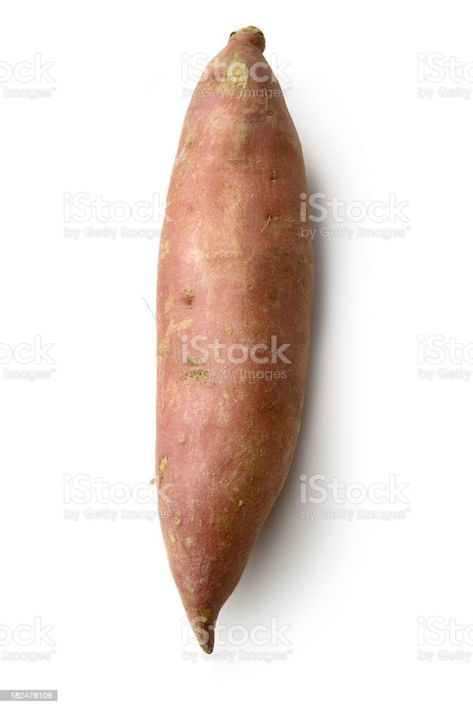 Vegetables: Sweet Potato stock photo