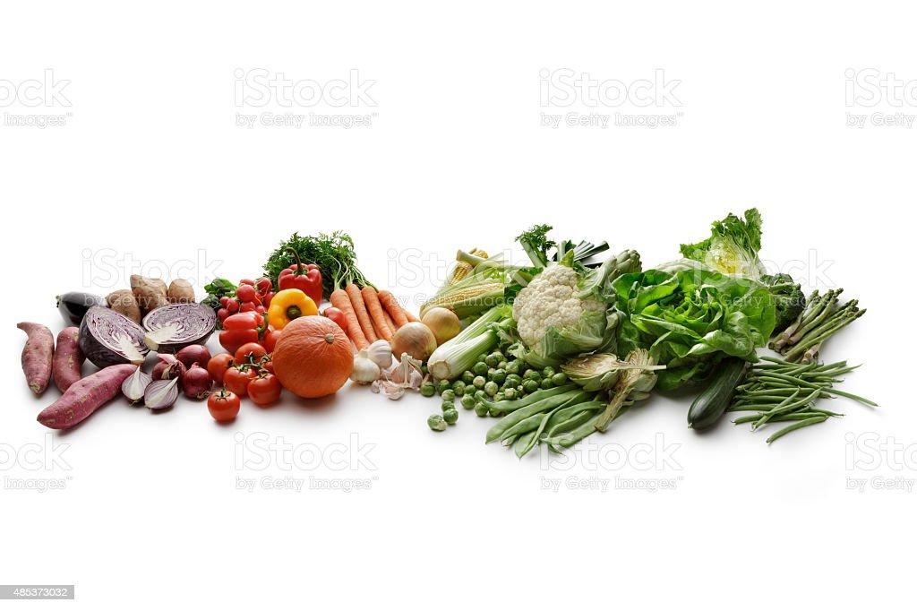 Vegetables: Variety stock photo