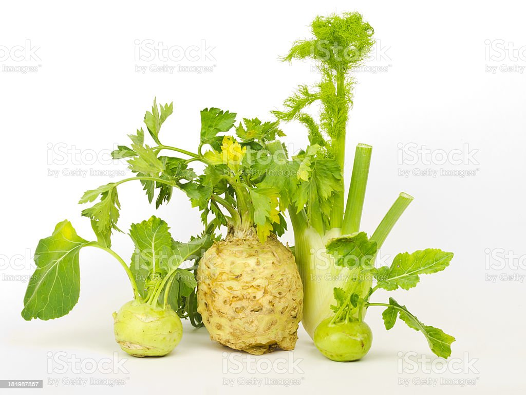 vegetables with leaves royalty-free stock photo