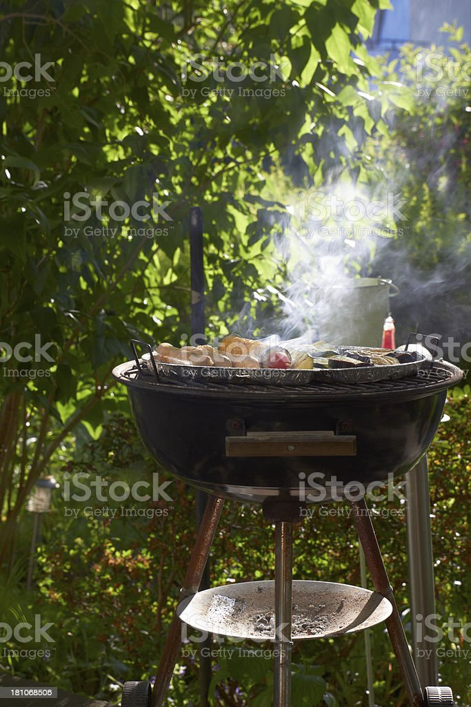 Vegetarian barbecue royalty-free stock photo