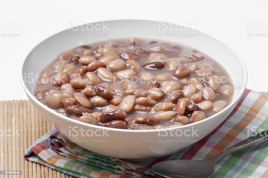 Vegetarian Bean Soup stock photo