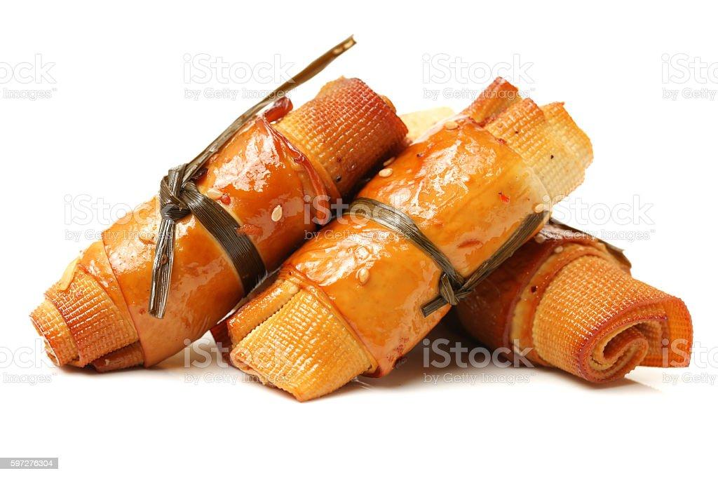 Vegetarian chicken stock photo