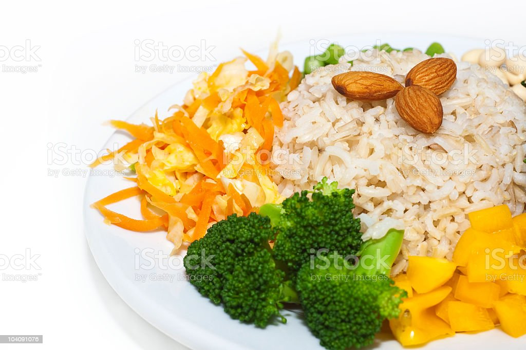 Vegetarian dishes royalty-free stock photo