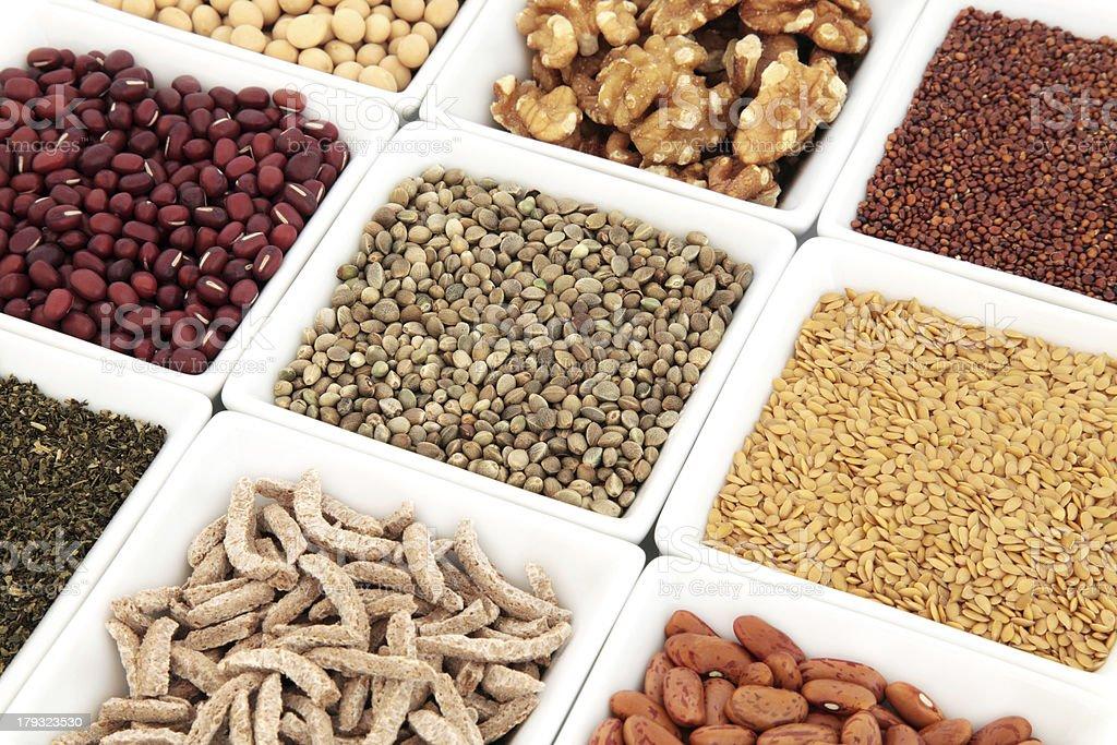 Vegetarian Health Food royalty-free stock photo