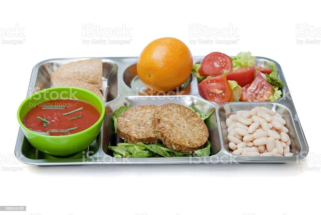 Vegetarian menu royalty-free stock photo