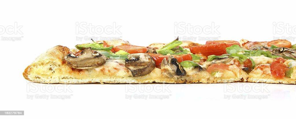 Vegetarian Pizza - 13 royalty-free stock photo