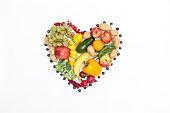 Vegetarisches Herz