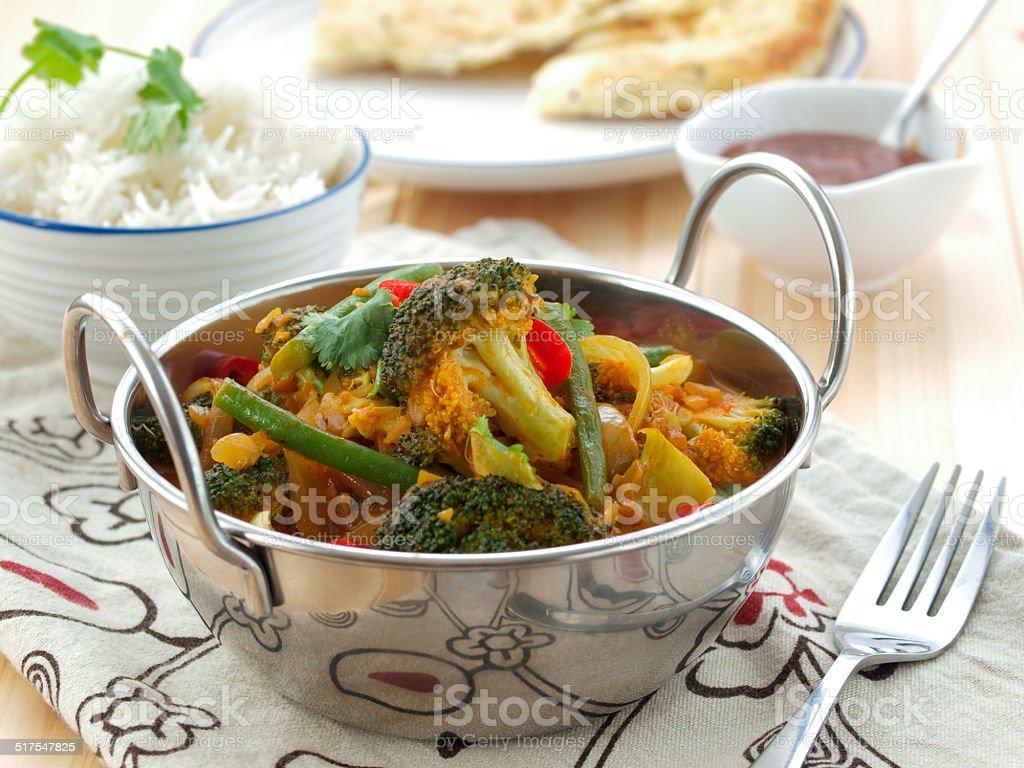 Vegeterian masala stock photo