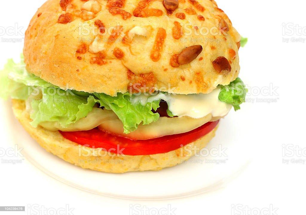 Veggie Burger royalty-free stock photo