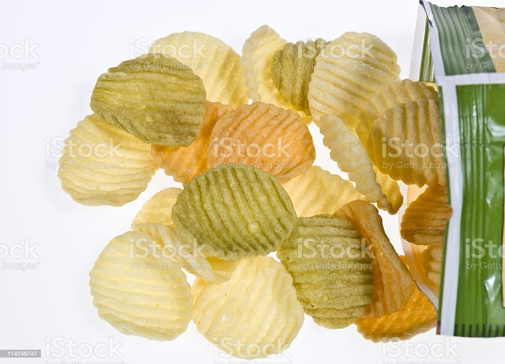 Veggie Chips stock photo