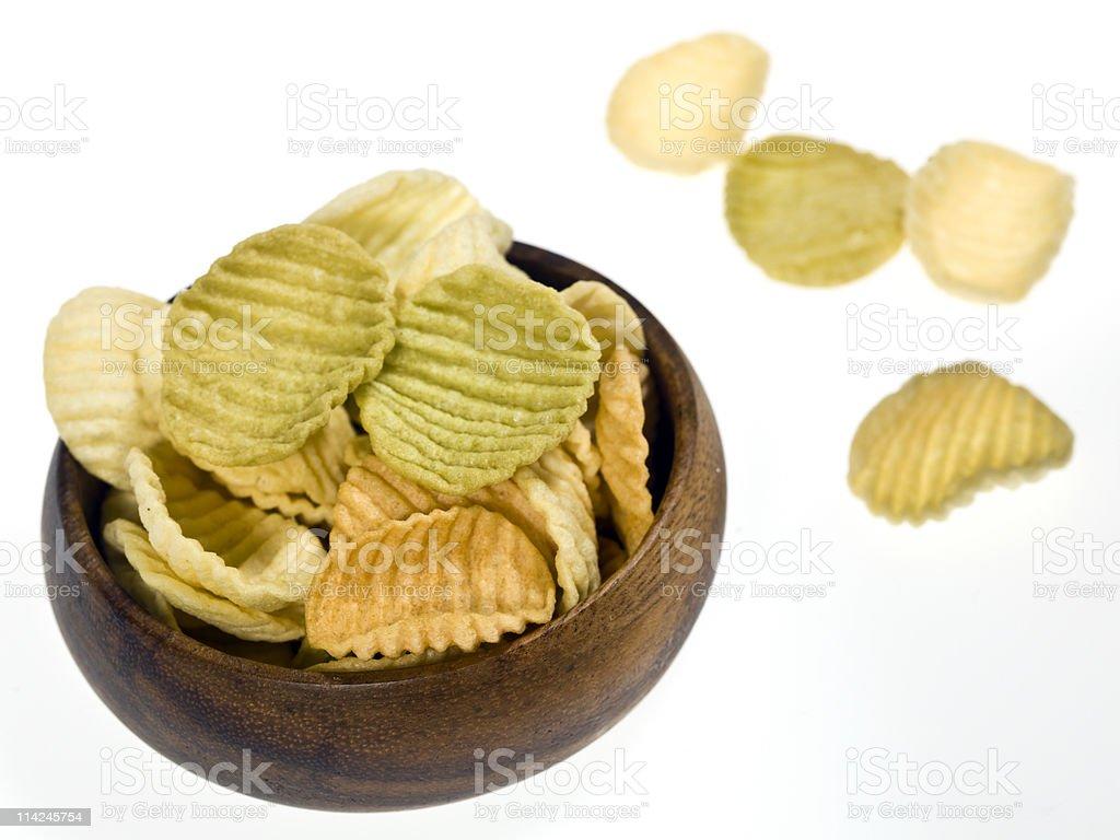 Veggie Chips stock photo