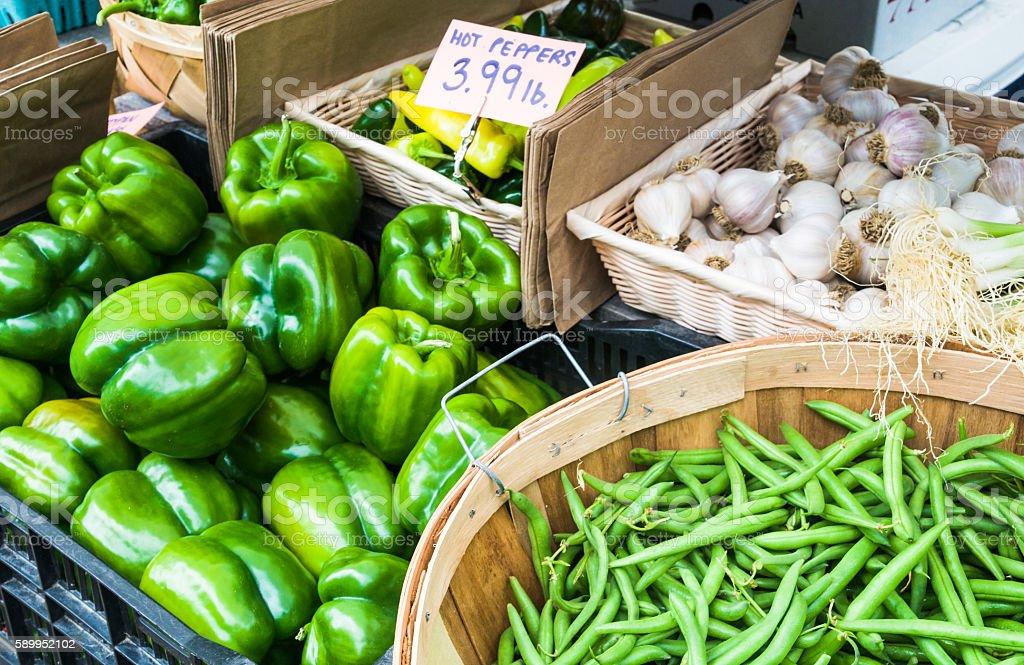 Veggie Choices stock photo