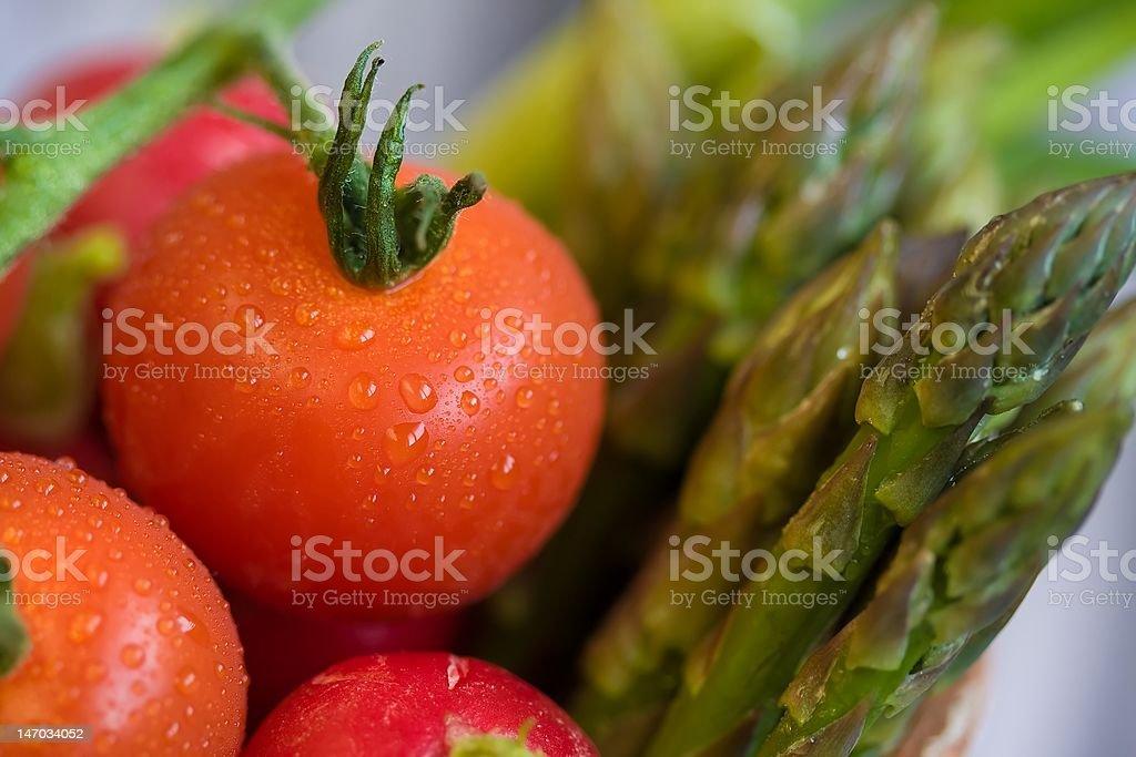 Veggies close-up stock photo