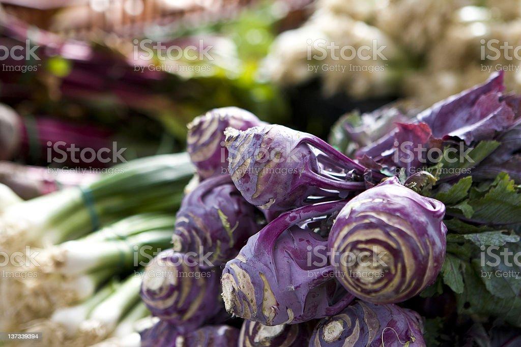 Vegtable Farmers Organic Market royalty-free stock photo