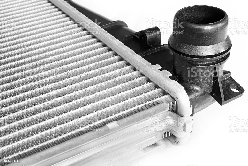vehicle aluminium cooling system radiator stock photo