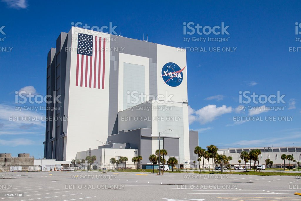 Vehicle Assembly Building stock photo
