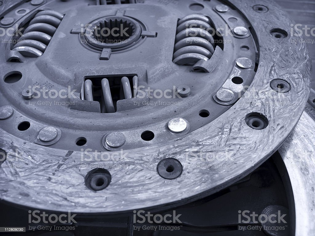 Vehicle Clutch royalty-free stock photo