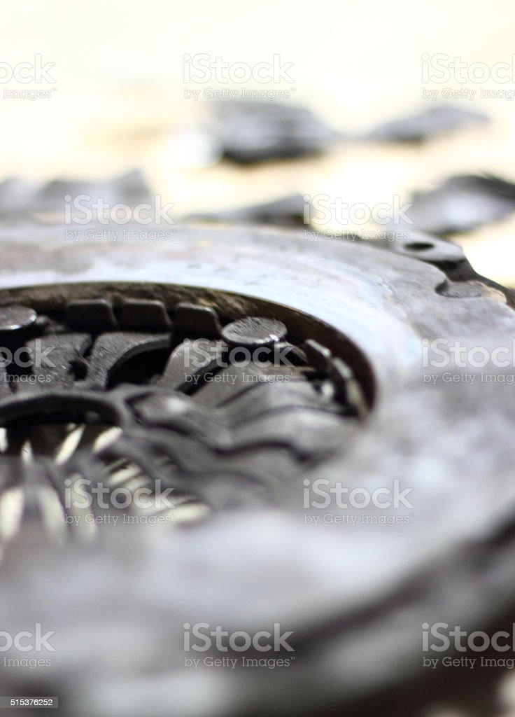 Vehicle Clutch stock photo