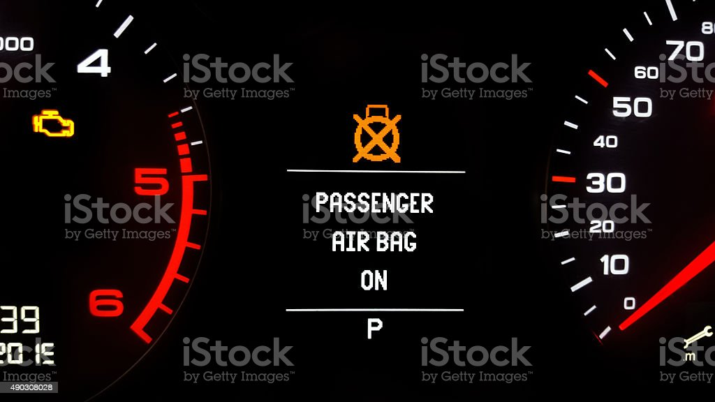 Vehicle Dashboard stock photo