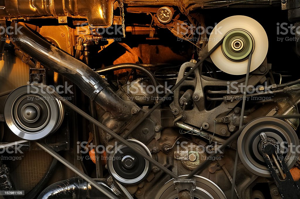 Vehicle Engine royalty-free stock photo