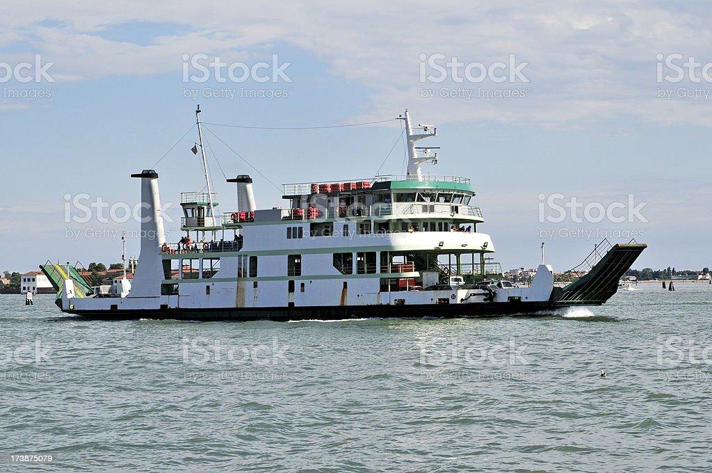 Vehicle Ferry royalty-free stock photo