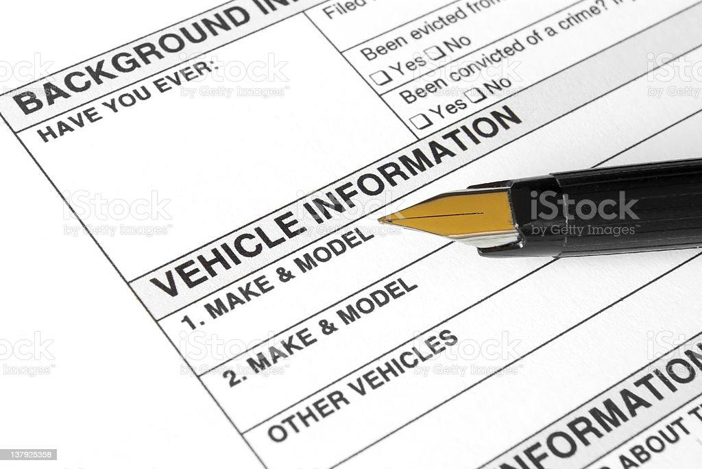 Vehicle form royalty-free stock photo