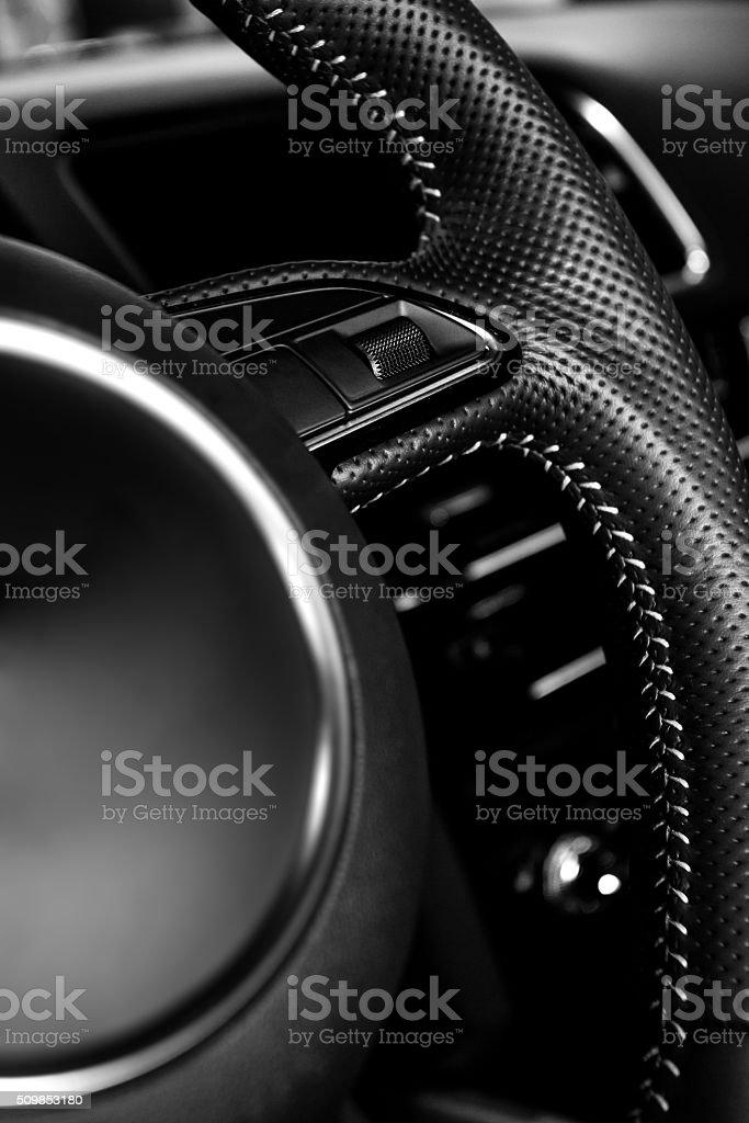 Vehicle interior stock photo