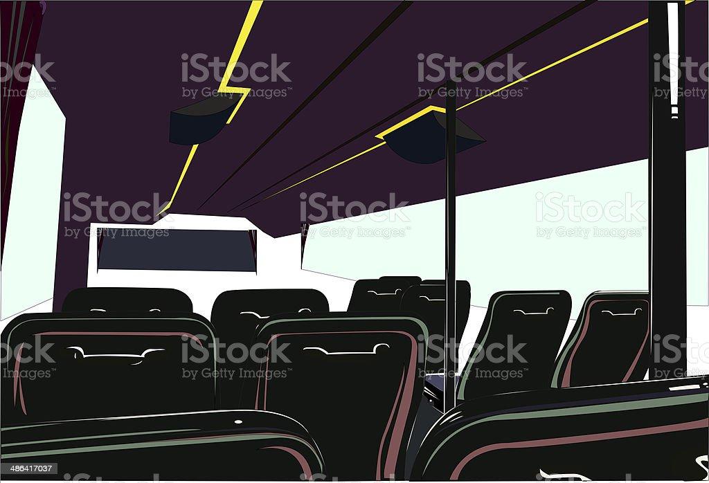 Vehicle seat royalty-free stock photo