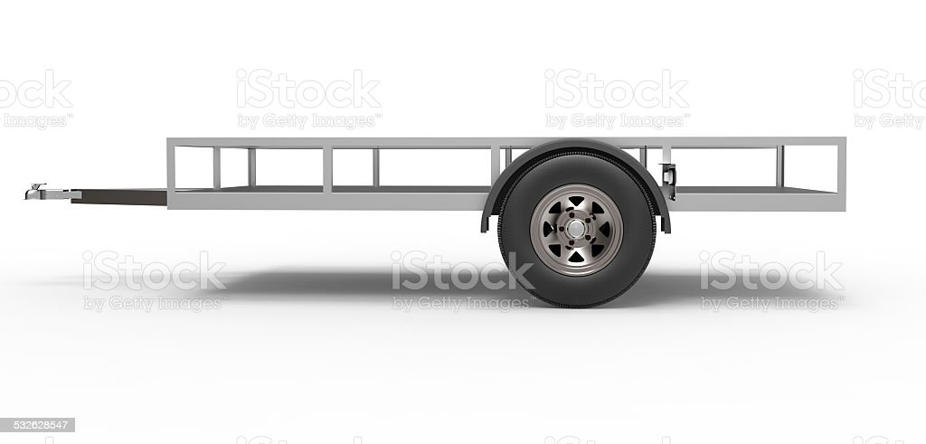 vehicle Trailer stock photo